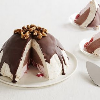 Banana Split Ice Cream Bombe