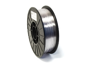 Translucent Clear PRO Series PETG Filament - 1.75mm (1lb)