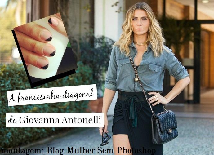 A unha de Giovanna Antonelli em A Regra do Jogo