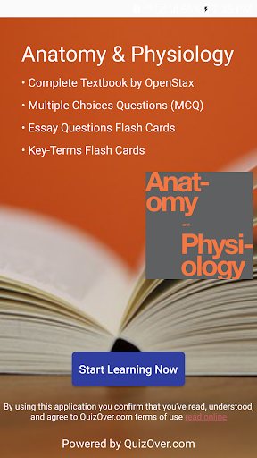 Anatomy & Physiology Textbook , MCQ & Test Bank by QuizOver.com ...