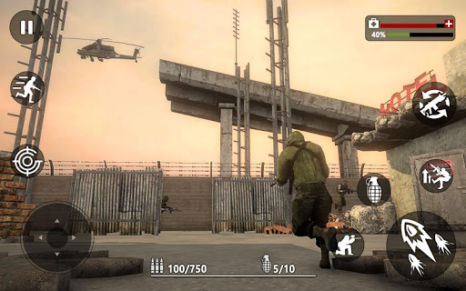 Army Frontline Mission : Counter Terrorist War  screenshots 8