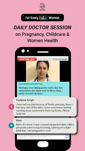 Indian Women App: Healofy 3.0.7.74 screenshots 7