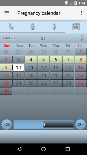 Pregnancy Calendar 2.5.1 screenshots 5
