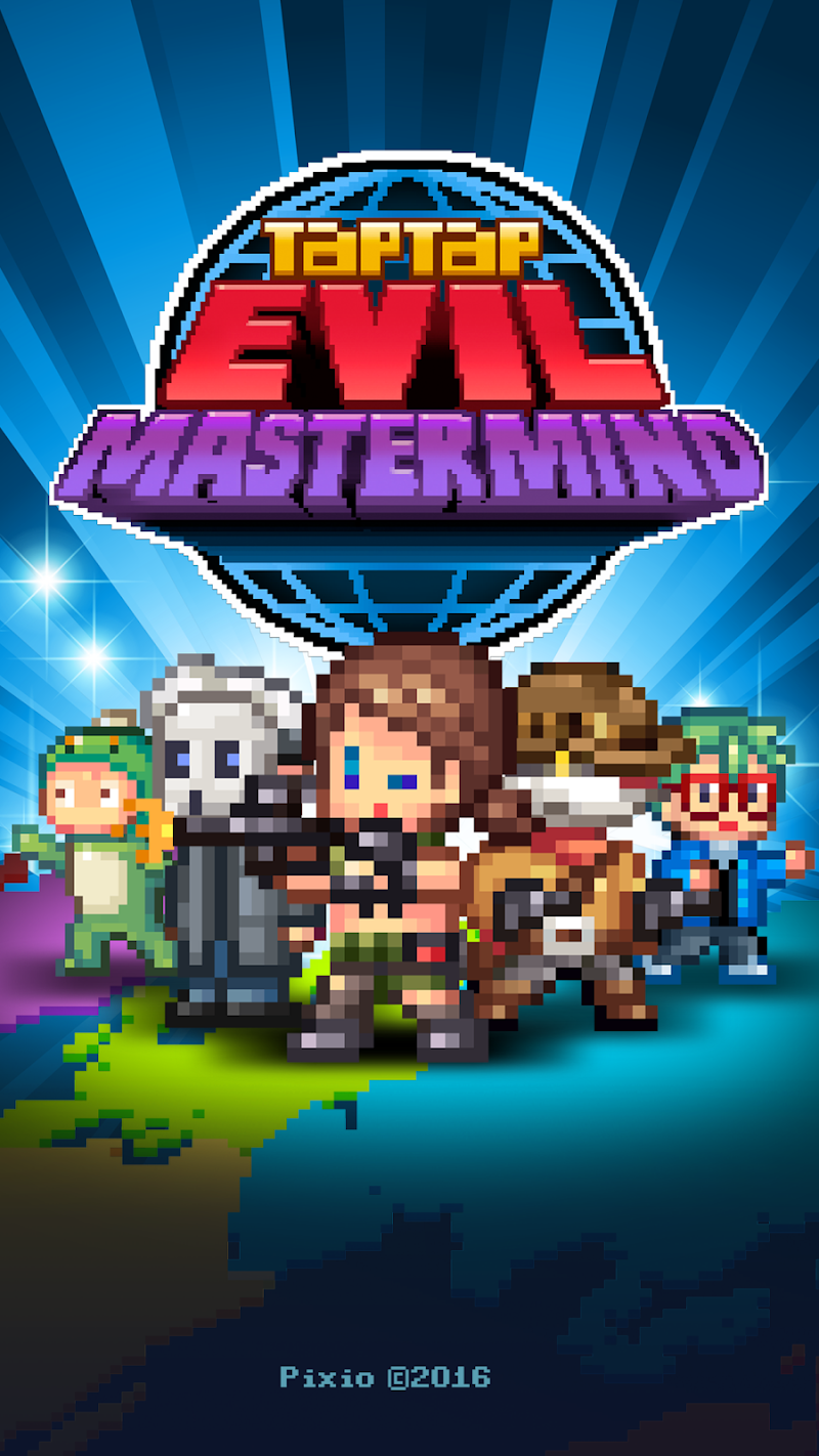 Tap Tap Evil Mastermind - Idle Doomsday Clicker Screenshot 5
