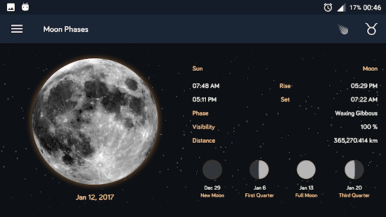 Moon Phases- screenshot thumbnail