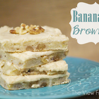 Banana Nut Brownies.