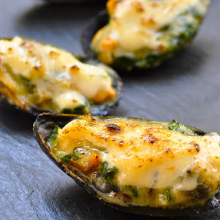 Baked Mussels With Cream Cheese Recipes
