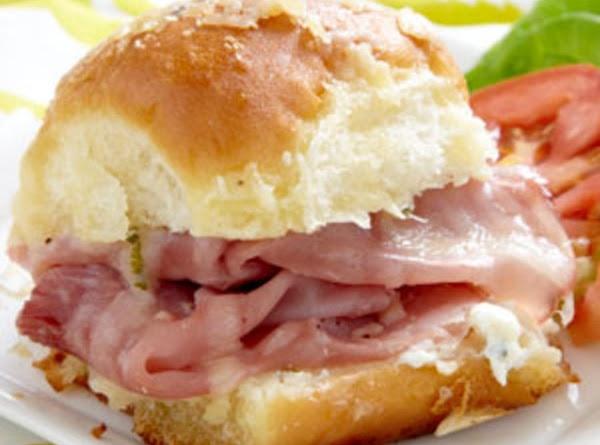 Sassy Tailgate Sandwiches Recipe