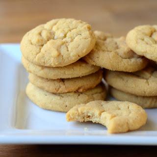 Crispy Salted Peanut Butter Cookies
