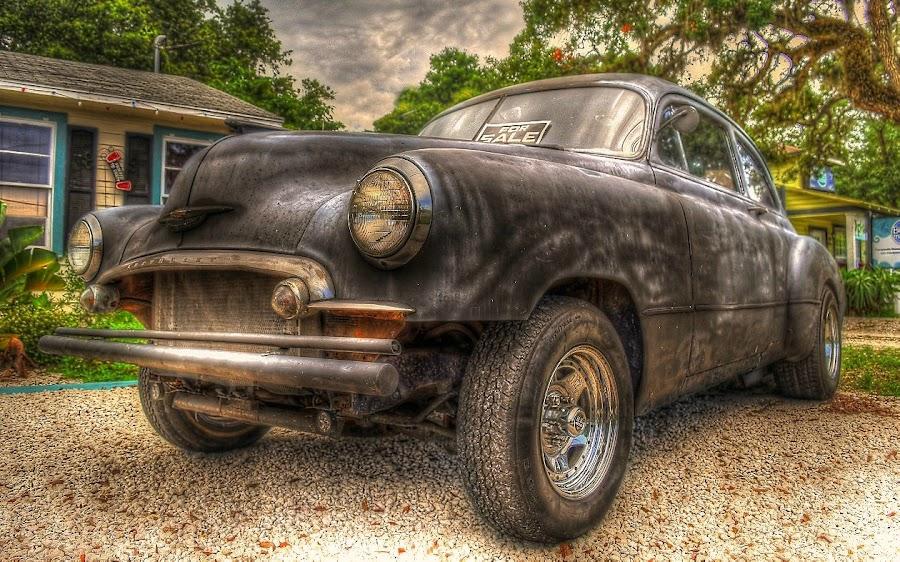 Faded Black by Edward Allen - Transportation Automobiles