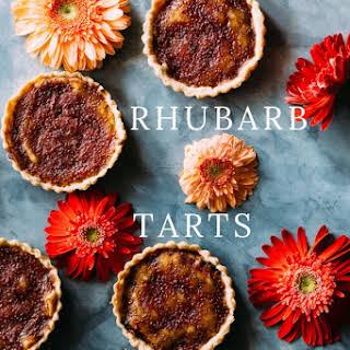 Rhubarb Tarts.