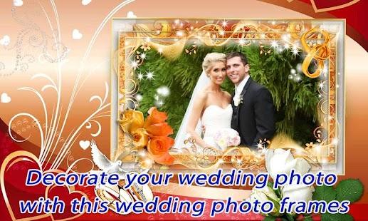 Wedding Photo Frame Effects
