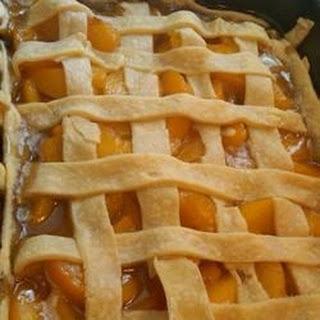Old Fashioned Peach Cobbler.