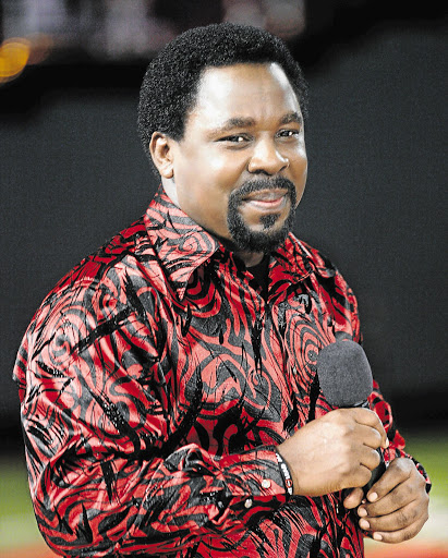 TB Joshua invites victims of church collapse to spend 'black