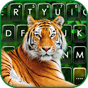 Wild Tiger Keyboard Background icon