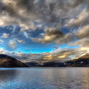 Where the fjords meet 2 by Sigbjørn Fjellheim - Landscapes Cloud Formations