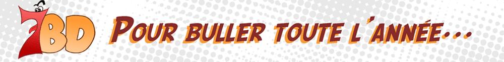 header de 7BD site de chroniques de bande dessinée, comics et mangas
