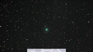 Photo: A full sized #cometlovejoy from Dec 30th. I wish my tracking was stronger than it was I only eeked out 15s subs! :(