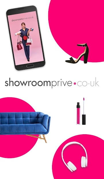 Showroomprivé: private sales on big brands Android App Screenshot