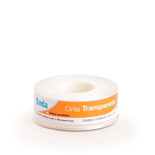 adhesivo rela cinta transparente 1,2 cm x 4,5 m