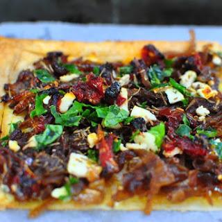 Caramelized Onion & Feta Tart