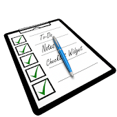 To-Do Notes Checklist Widget