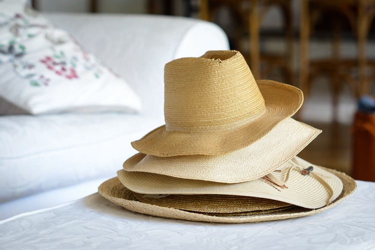 different hat materials