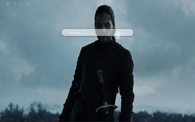 Jon Snow Wallpaper Chrome Theme