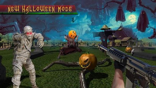 الهيجان الدجاج مطلق النار 3D: ألعاب الرماية بمسدس 4