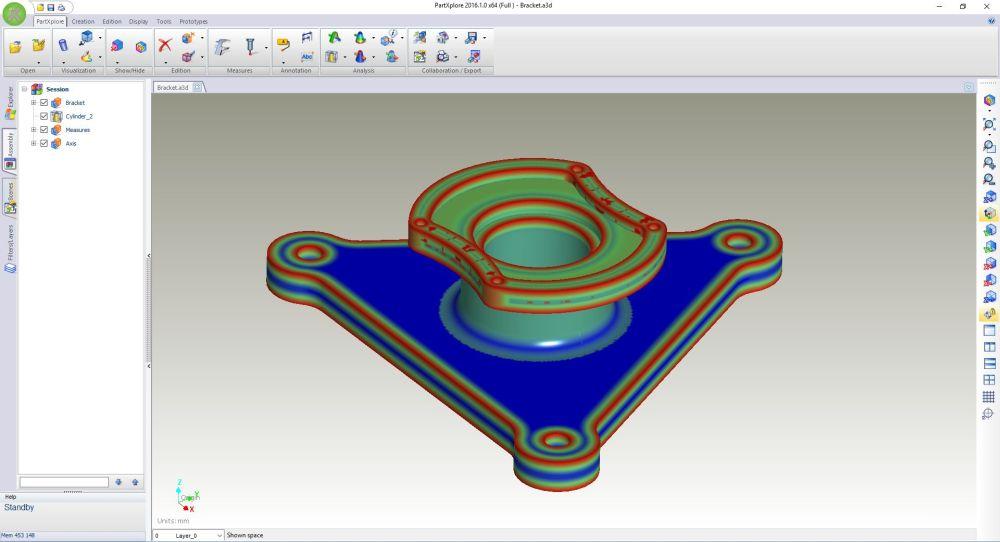 SURFCAM Partxplore – новая программа для просмотра всех форматов 3D-обьектов