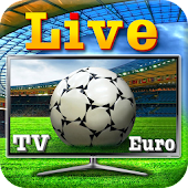 Live Football TV Euro Icon