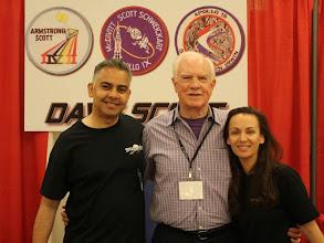 Photo: With Gemini & Apollo astronaut + moonwalker Dave Scott!