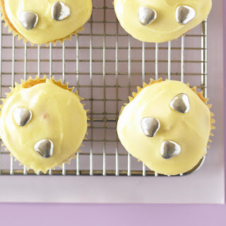 Apple and Pear Cupcakes with Passionfruit Icing