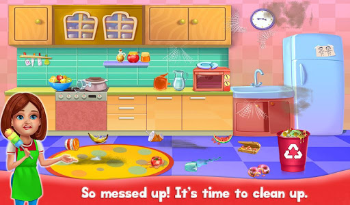 Big Home Cleanup and Wash : House Cleaning Game screenshots 3