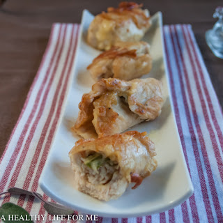 Chicken Roulades with Sage.