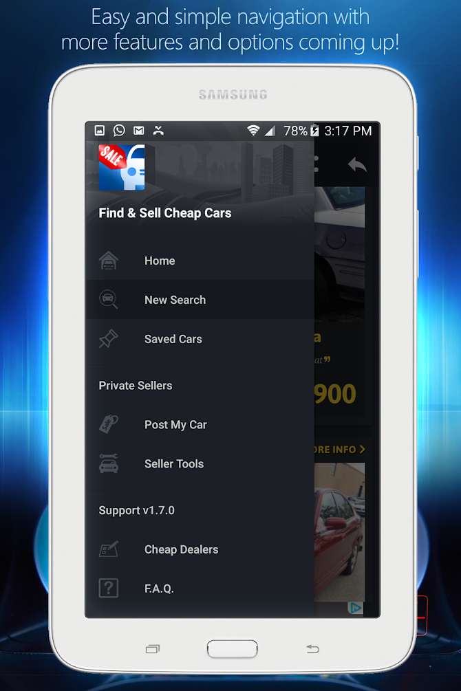 Cheap Cars For Sale - Autopten Android 23