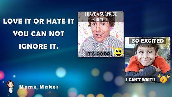 Meme Creator, Funny Meme Maker & Generator Screenshot