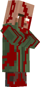 A bloody Herobrine villager that is waiting to RULE THE WORLD!!!!!! MUHAHAHA!!!!!!!!!!!!!!! -WGK2002