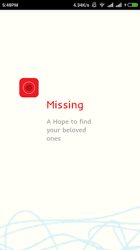Missing Person's App
