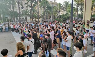 Concentración por la muerte de Samuel en Almería