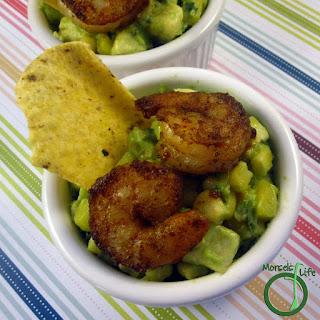 Cajun Shrimp Guacamole.