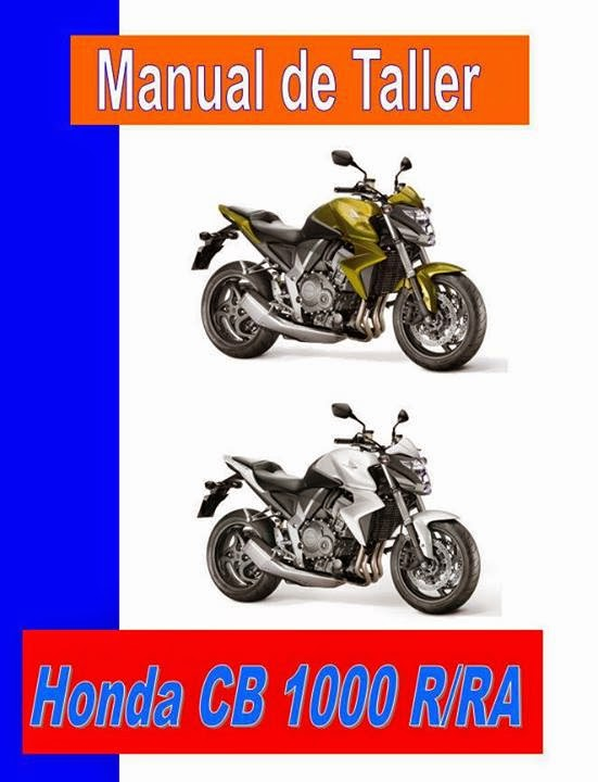 honda cb 1000 manual-taller-servicio-despiece