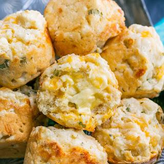 Savory Cheddar Muffins.