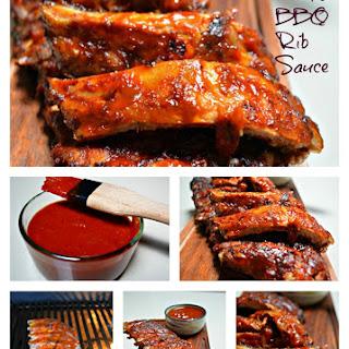 Dad's BBQ Rib Sauce