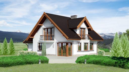 projekt Dom przy Cyprysowej 15 P