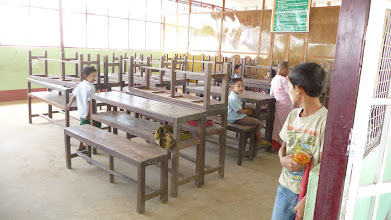 Photo: Classroom for primary students.