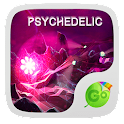 Psychedelic GO Keyboard Theme icon
