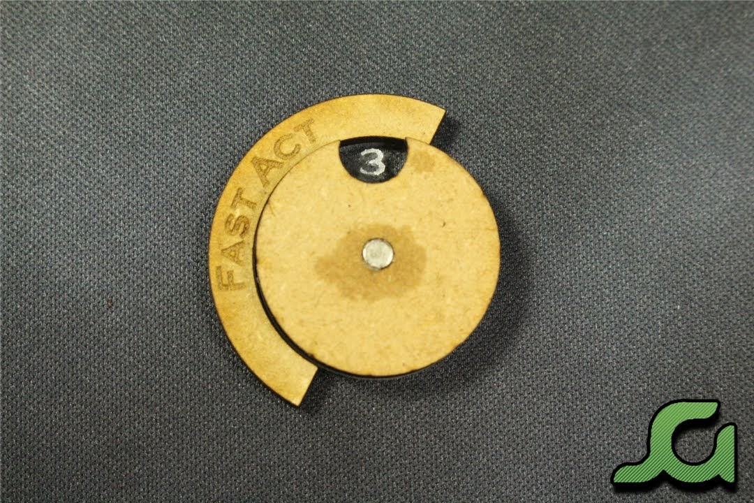 25mm Wound Dial