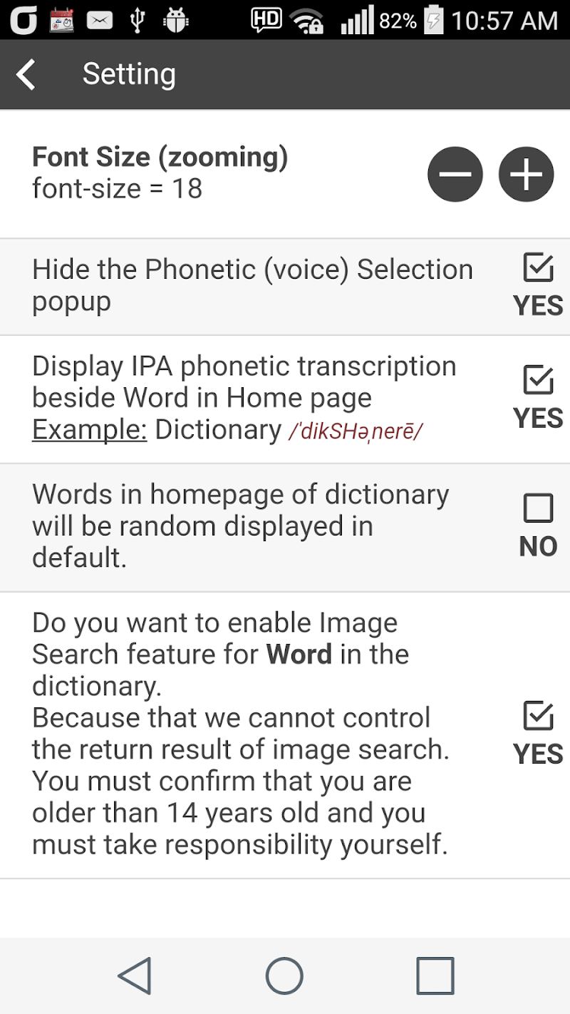 Collocation Dictionary Pro Screenshot 7