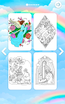 screenshot of Bible Color by Number: Bible Coloring Book